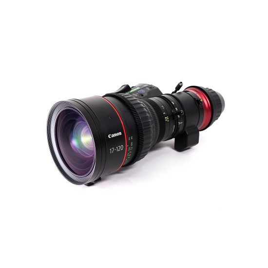 Canon 17-120mm Cine-Servo CN7x17 T2.95 PL Zoom