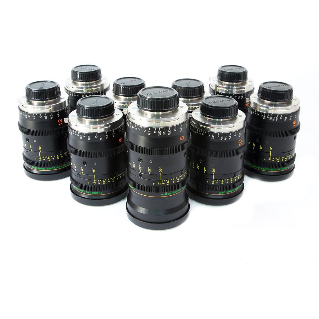 Fujinon HD Cine Super Primes