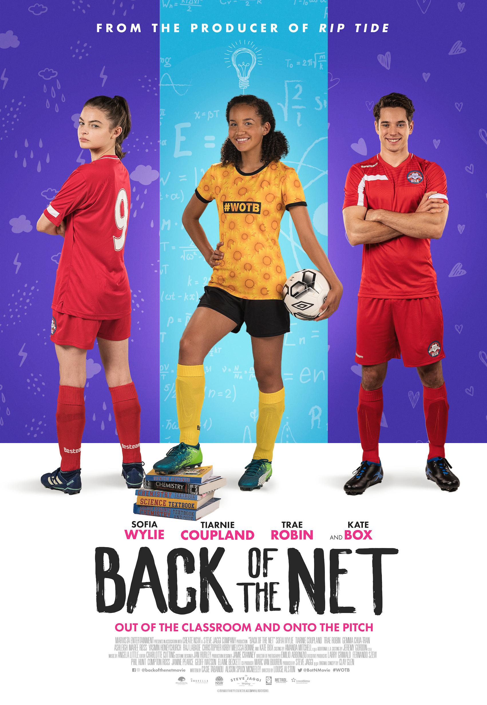 Back of the Net - Production Cover