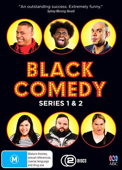 Black Comedy S1 & S2 - Production Cover