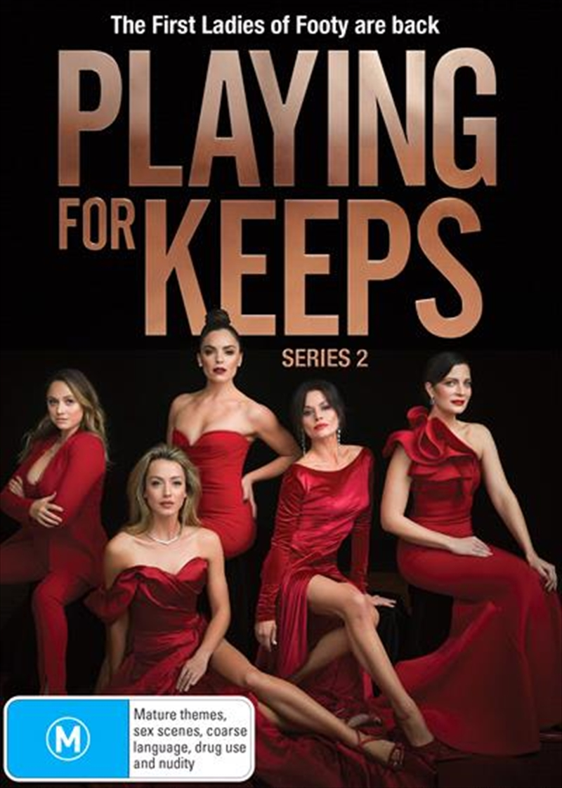 Playing For Keeps S2 - Production Cover