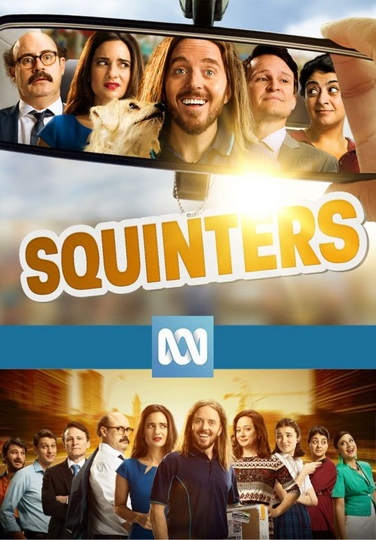 Squinters S1 - Production Cover