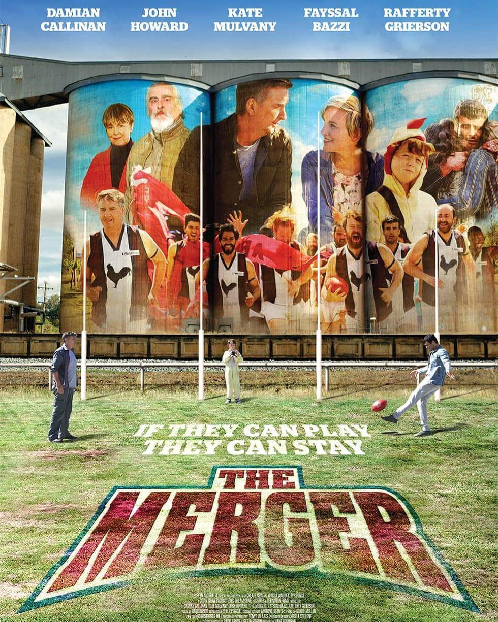 The Merger - Production Cover
