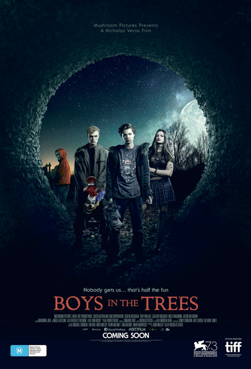 Boys In The Trees - Production Cover