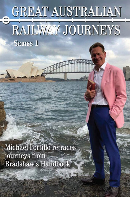 Great Australian Railway Journeys - Production Cover
