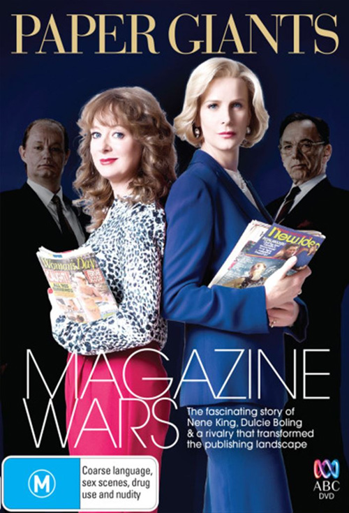 Paper Giants: Magazine Wars - Production Cover