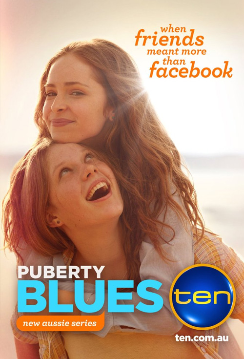 Puberty Blues - Production Cover