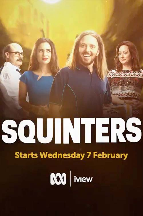 Squinters S2 - Production Cover