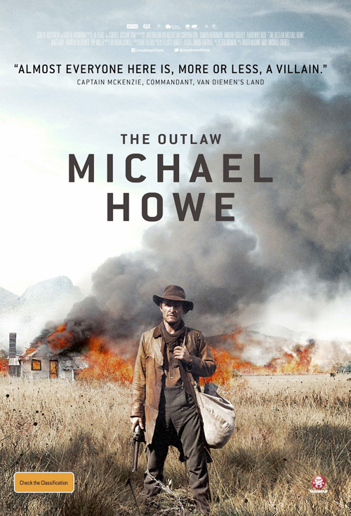 The Outlaw Michael Howe - Production Cover