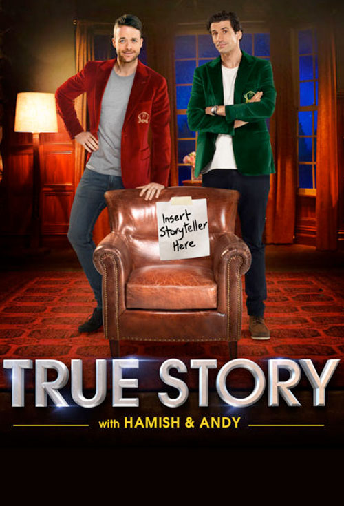 True Story with Hamish & Andy S3 - Production Cover