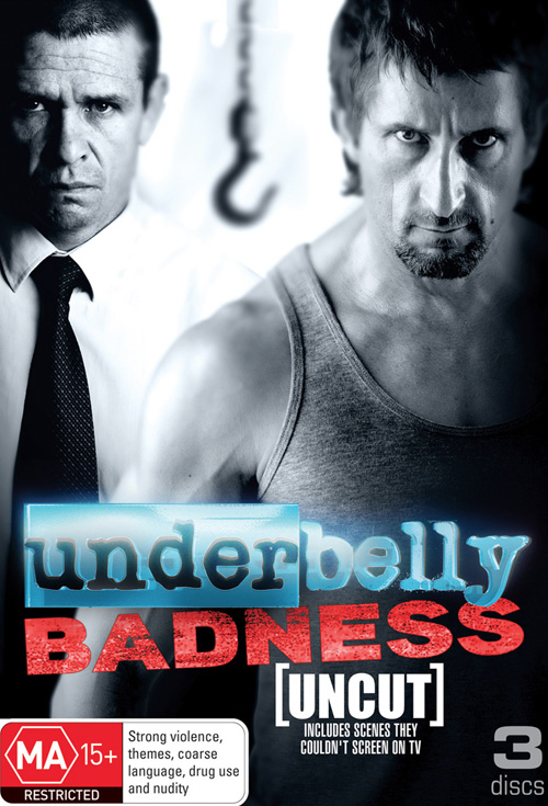 Underbelly 5: Badness - Production Cover
