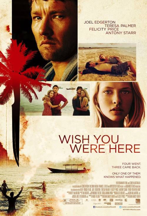 Wish You Were Here - Production Cover